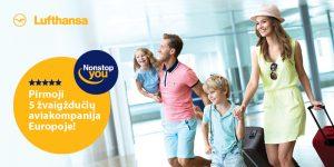 Lufthansa automatinė registracija